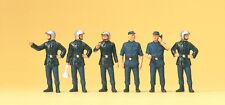 Preiser H0 Art.Nr. 10232 Feuerwehrmänner Frankreich. Moderner Helm
