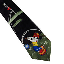 Mickey Mouse Golf Tie Vintage