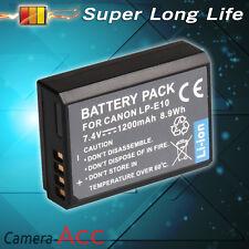 1200mAh Battery For Canon LP-E10 LPE10 EOS 1100D 1200D REBEL T3 UK RML