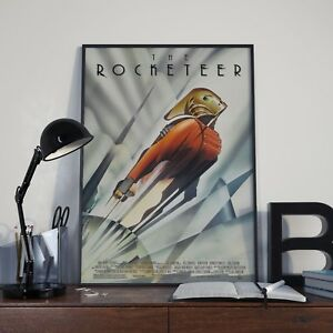 The Rocketeer Movie Film Poster / Print / Picture A3 A4 Size 90's Posters