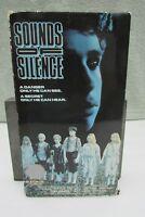 Sounds of Silence (VHS, 1989) Peter Nelson, Kristen Jensen, Dennis Castillo