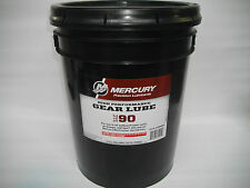 MERCURY HIGH PERFORMANCE GEAR LUBE 5 US GAL (18.3L) OUTBOARD MERCRUISER