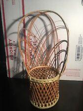Wicker Pattern Doll / Teddy Bear Chair