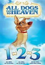 ALL DOGS GO TO HEAVEN 1 2 3 New Sealed 3 DVD All Dogs Christmas Carol