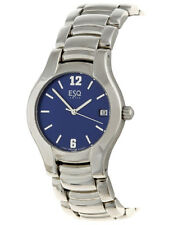 ESQ by Movado Men's Previa Blue Dial Stainless Steel Watch - Model 07300713