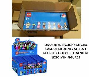 LEGO Disney Series 1 Minifigures Case Factory Sealed NIB 71012 Box 60 RETIRED