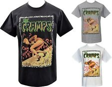 The Cramps Mens T-Shirt Can your Pussy to the Dog ? Poison Ivy Tiger Psychobilly