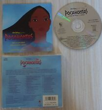 CD WALT DISNEY POCAONTHAS BOF MUSIQUE DU FILM BY ALAN MENKEN