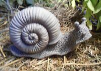 Latex snail mold plaster cement concrete mould