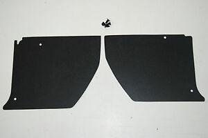 HJ HX HZ HOLDEN Kick Panels Black (pair) Inc 4 Trim Buttons *Top Quality*