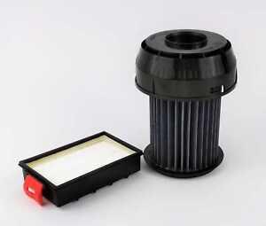 Hepa-Filter-Set passend für Bosch-Siemens BGS-6 - VSX-6 - 649841 + 570324 im Set