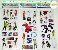 Big Hero 6 Baymax Stickers.Lolly bag favours or Party prizes. *BUY 5 GET 5 FREE*