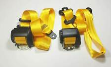 2 NEW Speed - Yellow  Porsche 986  , Boxster   TRW / REPA SEAT BELT  GERMANY