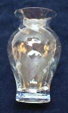 "Set of 6 Gardeners Eden 4"" Glass Vases SKU 894758 Optic Tbl Set in Original Box"