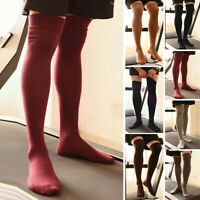 Men's Stretch Thigh High Stockings Sports Breathable Over The Knee Long Socks