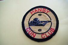 MANBY GUN CLUB Cloth Patch