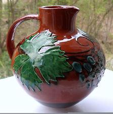 Max Laeuger | Wein-Krug/Vase | frühe Kandern Nr. 7.X. | Höhe 14,4 cm | vor 1900