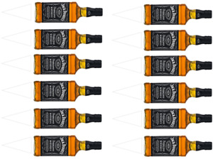JACK DANIELS BOTTLES INSPIRED CAKE TOPPERS EDIBLE ICING / WAFER