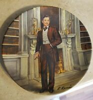 """Edwin M. Knowles Gone With the Wind collectors Plate: """"Rhett"""""""