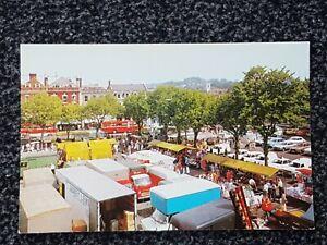 Vintage Postcard Salisbury Market
