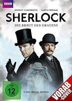 BENEDICT/FREEMAN,MARTIN CUMBERBATCH - SHERLOCK-DIE BRAUT DES GRAUENS 2 DVD NEU
