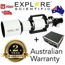 Explore Scientific ED102mm F/7 APO triplet refractor telescope astronomy