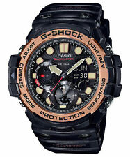 Casio G-Shock Men's Gulfmaster Twin Sensor Blk/Rose Gold Watch GN1000RG-1A
