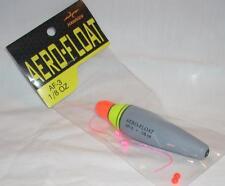 Hawken Aero-Float 1/8 oz Fishing Foam Slip Float w/2 Micro Bobber Stops & Beads