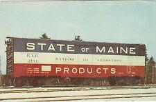 Bangor & Aroostook Railroad Company Postcard Posted 1972