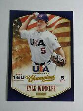 KYLE WINKLER 2013 PANINI USA BASEBALL CHAMPIONS CARD # 111 C2908