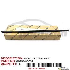 TOYOTA 4RUNNER FACTORY OEM 68290-35031 REAR LIFTGATE DOOR MOLDING WEATHERSTRIP