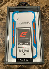 Element Case RALLY Drop Tested Case for iPhone Xs Max 6.5 inch Clear - New!