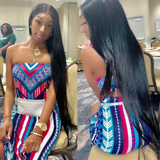 4Bundles Malaysian Straight Human Hair Extensions 100% Straight Hair Weaves Weft