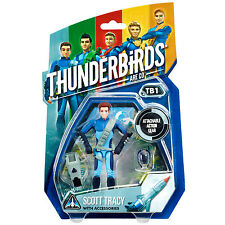 "Thunderbirds Are Go! - Scott Tracy 3.75"" Action Figure - *BRAND NEW*"