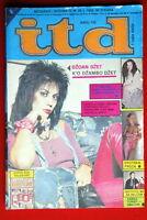 JOAN JETT ON COVER 1983 RARE EXYUGO MAGAZINE