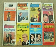 MAN FROM U.N.C.L.E. Books  #3,4,5,8,10,12,14 & GIRL FROM UNCLE  FREE SHIPPING!
