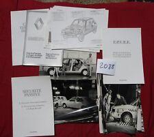 N°2088 / RENAULT dossier de presse   la sécurité  1979