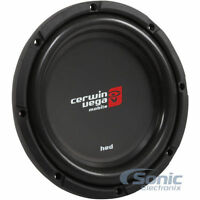 "CERWIN VEGA HS102D 800W 10"" HED Shallow Mount Dual 2 Ohm Car Subwoofer/Sub"