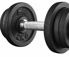 10,5kg Dumbbell Barbell 6 Gewichtscheiben Dumbbell Set Chromed Barbell BAR