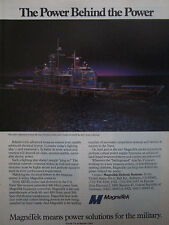 12/1990 PUB MAGNETEK DEFENSE SYSTEMS ELECTRICAL SYSTEMS US NAVY AEGIS CRUISER AD