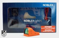 Noblex Sight C 3,5 MOA Safety Orange Leuchtpunktvisier Red Dot Reflexvisier NEU