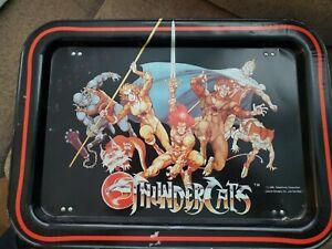 "Rare Thundercats Dinner TV Lap Tray Vintage Metal 1985 16""x12"" See Descriptio"