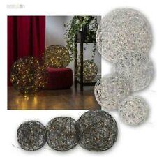 3D Bola Trassel, LED Design-Gartendekoration Deco, Edelstahlgeflecht Estiloso