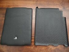 VAJA CASE iPad 2 & 3 Leather Case  USED MINT EXCELLENT CONDITION Black