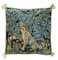 HARE CUSHION TAPESTRY NEEDLEPOINT COLOUR CHART - BETH RUSSELL