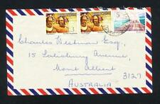 Independent Nation Cover Papua New Guinean Stamps