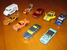 Lot of 9 Hot Wheels Vintage diecast cars - Good to very good used condition