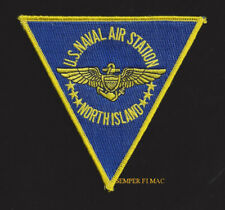 NAS NORTH ISLAND PATCH US NAVAL AIR STATION CA NAVY MARINES PIN UP USS MCAS NAS