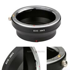 EOS-M4/3 for Canon EOS EF Mount Lens To Olympus M43 E-P1 Micro 4/3 Adapter Ring