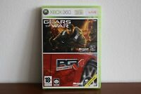 PGR 4 Project Gotham Racing & Gears of War - XBOX360 Game PAL - English Version